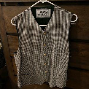 Rare vintage VERSACE vest! Beautiful